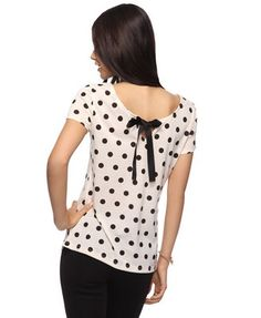 Ribbon Back Top  $15.80