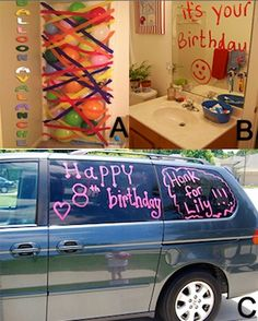 Such cute kid's birthday ideas! Or, who am I kidding? I would be stoked on all of these for myself!