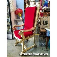 santa chair i built for my home depot. a throne fit for a pimp