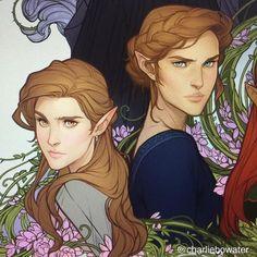 Alain and Nesta Archeron