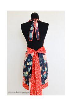 Patrón de vestido delantal Chic por SugarPieChic en Etsy
