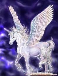 Resultado de imagen para dibujos de unicornios con alas
