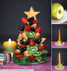 Well we do have summer christmas so it would make a brilliant table decoration that is edible! Hmmm maybe I could take it to the end of year party for school??