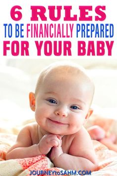 Welcoming a new baby is an exciting time for many families. There is so much to prepare before baby is born. It's especially important to prepare financially for baby's arrival. To help with the transition of a new child into your family, whether it's the first or the fifth, there are several things you can do to prepare financially. Here are 6 Rules to Help You Financially Prepare for Your Baby! | Journey to SAHM @journeytosahm #newbornbaby #howtopayforababy #prepareforbaby #journeytosahm Baby Hacks, Mom Hacks, Baby Tips, Breastfeeding Classes, Earliest Pregnancy Symptoms, Baby On A Budget, Preparing For Baby, Before Baby, Little Black Books