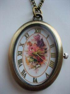 Horlogeketting, necklace watch