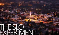 The SLO Experiment What the weather looks like today.... great views in this cool San Luis Obispo vid.. a January high of 86 degrees today...