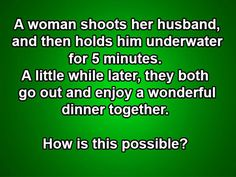 Funny Riddles With Answers Brain Teasers ` Funny Riddles With Answers Riddles With Answers Clever, Tricky Riddles, Jokes And Riddles, Impossible Riddles With Answers, Mind Riddles, Science Jokes, Forensic Science, Life Science, Trivia Questions And Answers