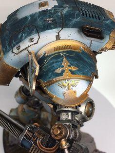 19247916_1062172500549744_4991375912373445418_n.jpg (720×960) Warhammer Figures, Warhammer Models, Warhammer 40k Miniatures, Warhammer 40k Art, Imperial Knight, Mini Paintings, Gundam Model, Gw, War Machine