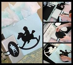Give your gift in style with this cute gift box and bag combination!