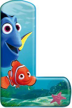 Reinforced by God: Decorative alphabet Nemo PNG