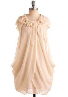 Ryu Ivory Rose Dress