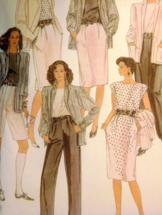Vintage Sewing Pattern McCalls 8374 Uncut 1980s by ThePatternVixen, $11.00