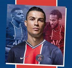 Paris Saint, Saint Germain, Psg, Neymar, Cristiano Ronaldo, Baseball Cards, Sports, Hs Sports, Sport