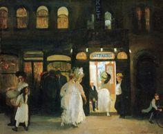 John French Sloan, The Haymarket (1907)