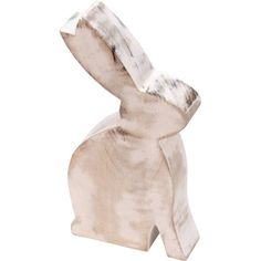 This ear-esistible Easter bunny is hand-cut from mango wood by skilled makers in India who are keeping traditional handicrafts alive. Mango is a densely grained wood, but also relatively soft and easy to work with so special tools aren't needed, reducing costs.