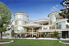 Boulevard Berlin : Moderne Einkaufscenter von Ortner & Ortner Baukunst Ziviltechnikergesellschaft mbH