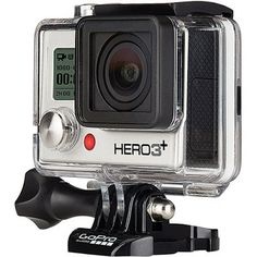 Câmera Digital e Filmadora GoPro Hero3+ Silver Edition 11MP, por R$ 1.879,00