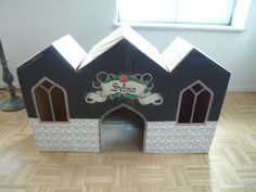 Gothic Cardboard Playhouse
