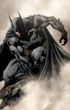 A Foggy Night & A Dark Knight #batman #comic #DC . Pin and follow @Pyra2elcapo