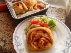 Rececatas: Pizza rolls