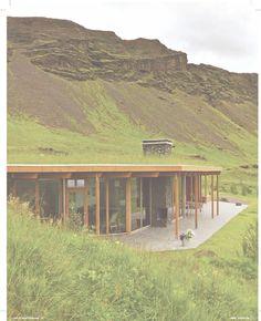 Award winning, green roof summer house, Island