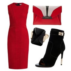 Givenchy Style in Red