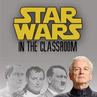 Using Star Wars to teach Mythology, Social Studies, Literature, and Science.