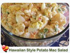 Macaroni Potato Salad - ILoveHawaiianFoodRecipes hawaiianforyou.com
