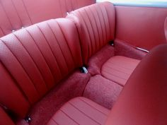 Porsche 356 custom car upholstery