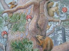 the forest children by elsa beskow