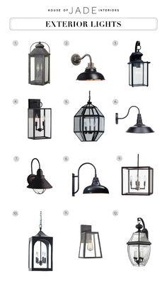 Design Tip: Exterior Lights - House of Jade Interiors Blog