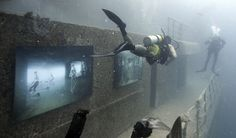 Underwater Shipwreck Art Gallery