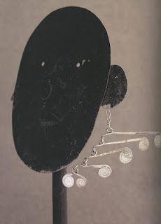 Alexander Calder mobile earrings
