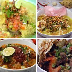 Yang mana soto favoritmu? Indian Food Recipes, Asian Recipes, Beef Recipes, Soup Recipes, Vegetarian Recipes, Cooking Recipes, Healthy Recipes, Ethnic Recipes, Easy Sauce Recipe