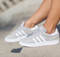 Adidas Women Shoes - I saw these ones and I know that it are adidas campus shoes but I can only find… ,Adidas Shoes Online, - We reveal the news in sneakers for spring summer 2017 Adidas Campus Shoes, Adidas Shoes Women, Nike Women, Gray Adidas Shoes, Adidas Shoes For Kids, Addidas Shoes Mens, Adidas Casual Shoes, Gray Shoes, Pink Shoes