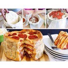 🍕Pizza Tutorials🍕 Like 4⃣ More👍 #TipIt Pizza Cake, Food Tags, French Toast, Snacks, Breakfast, Recipes, Tutorials, Blog, Ideas