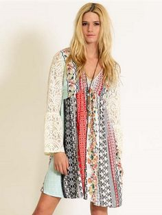 Southern Bell Dress - Multi