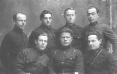 Kursants (cadets), Red Army Artillery School, Chuhuyiv, Ukraine, 1933