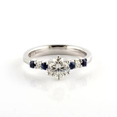 and by Aimee Winstone Handmade Wedding Rings, Wedding Ring Designs, Wedding Jewellery Inspiration, Wedding Jewelry, Designer Engagement Rings, Diamond Engagement Rings, Metals, Jewelry Accessories, Sapphire