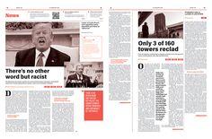 Editorial Design: The Big E newspaper