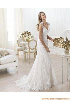 71fe8cbd8 Las 100 mejores imágenes de vestidos de novia baratos online españa ...