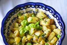Potato salad with a magic ingredient