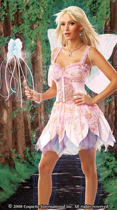 Royal Court Fairy Costume with Dress, Wings & Wand Halloween Fairy, Sexy Halloween Costumes, Fairy Costumes, Costumes For Women, Female Costumes, Fairy Clothes, Fairy Makeup, Royal Court, Fairy Outfits