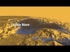 NASA Video of the Day: Cassini Spacecraft Fly-over of Titan's Earth-Like Lakes and Seas Soaring Over Titan: Extraterrestrial Land of Lakes May 20, 2014