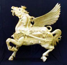 Griffin Carousel Horse - Joe Leonard