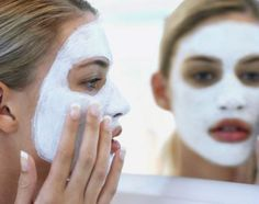 Baking Soda Pore Minimizer  After you've washed your face, place 2 tbsp. baking soda in the palm of your hand and add just enough water to form a thick paste. Massage the paste into your face, resisting the urge to scrub, for about 30 seconds. Rinse the paste away with cool water.    You should notice that your pores are smaller almost immediately. After a week of this regime you'll see visible results as your skin becomes clearer and less prone to breakouts.