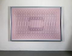 Alberto Garutti, km 1,530 dalla galleria Minini all'UBI - Banco di Brescia, 2008, digital print, 204x304x10 cm