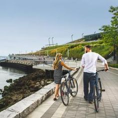 Vancouver- Seawall with Bikes