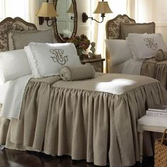 Shop Legacy Home Essex Flax Bedspreads - The Home Decorating Company