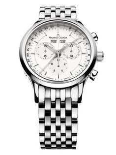 b64df5b7d706 Reloj Cro Maurice Lacroix Les Classiques Cronógrafo LC1008-SS002-130